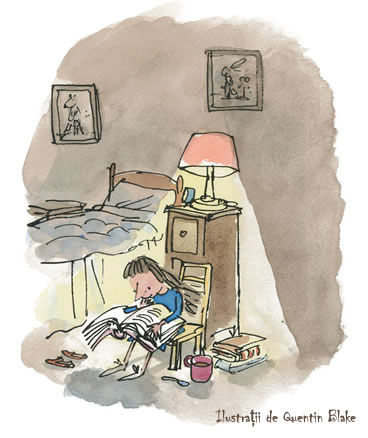 Matilda - Roald Dahl - Ilustratii Quentin Blake