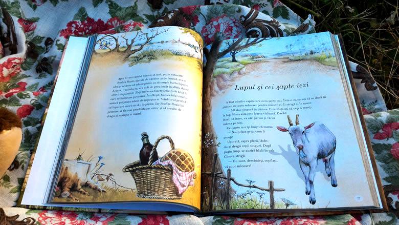 Cele mai frumoase povești de Frații Grimm - Corint Junior - Lupul și cei șapte iezi