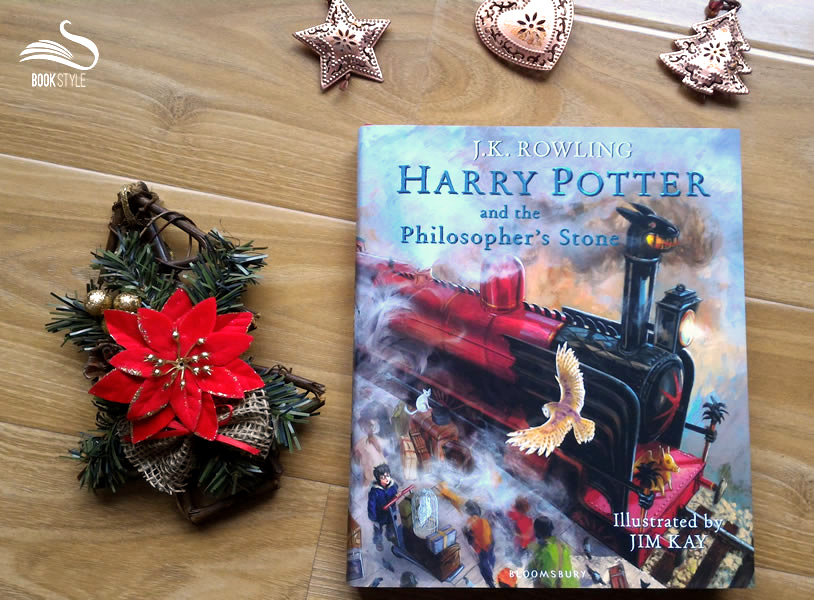 Harry Potter and the Philosopher's Stone - Illustrated Edition - JK Rowling - Illustrated by Jim-Kay - Bloomsbury - ISBN 9781408845646