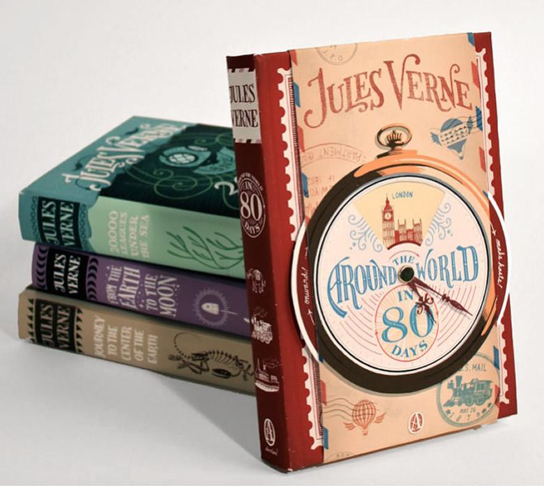 coperte carti Jules Verne create de Jim Tierney