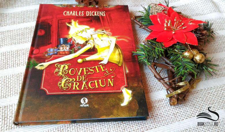 Poveste de Crăciun - Charles Dickens - Editura Arthur ISBN 978-606-8044-18-7