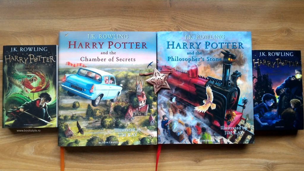 Harry Potter Illustrated Edition - Harry Potter Carte ilustrata - Bloomsbury ISBN 9781408845653 Jim Kay JK. Rowling