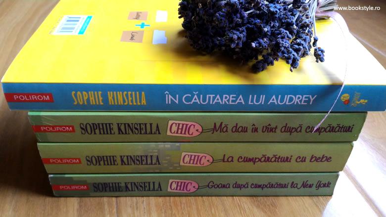 In cautarea lui Audrey, de Sophie Kinsella - Editura Polirom Junior ISBN: 978-973-46-6426-9