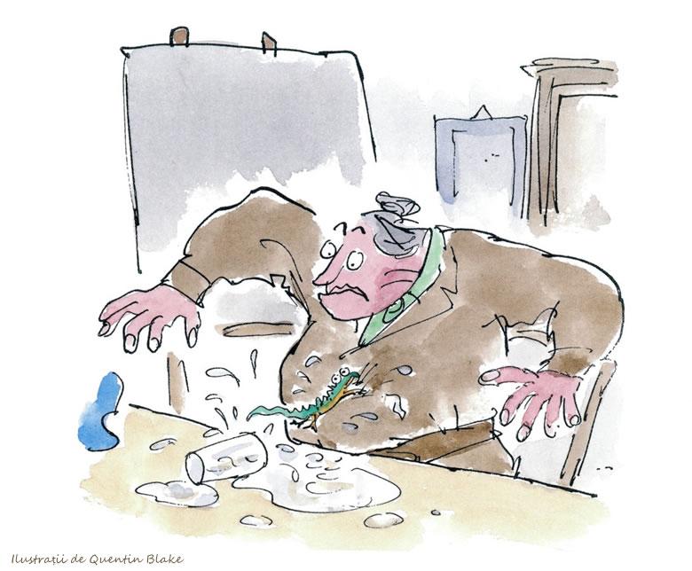 Matilda Roald Dahl - rezumat carte - directoarea Trunchbull