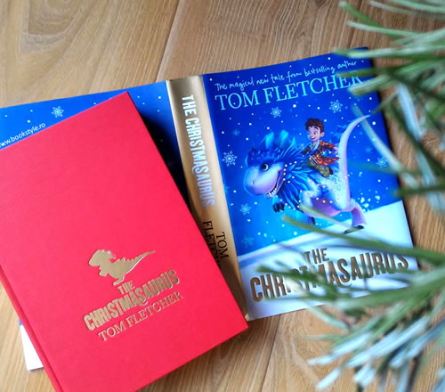 Christmasaurus - Tom Fletcher - Christmas Book - Penguin Puffin - Carte engleza - ISBN 9780141373324 Hardback