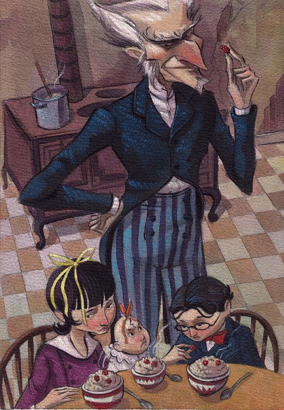 O serie de evenimente nefericite - Lemony Snicket