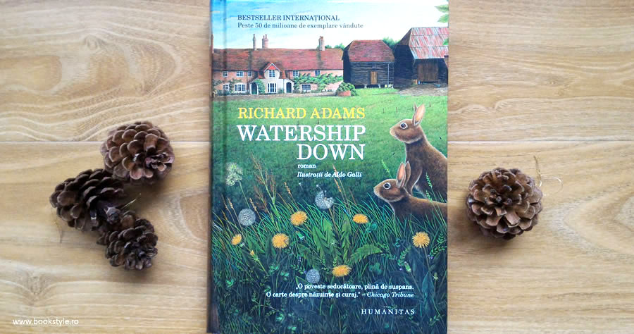 Watership Down - Richard Adams, Editura Humanitas ISBN: 978-973-50-3862-5