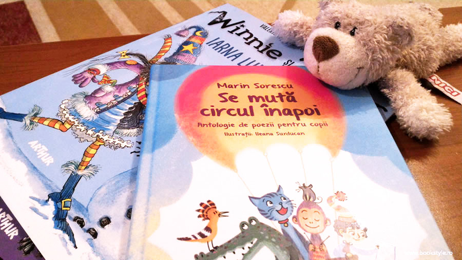 Se muta circul inapoi - Marin Sorescu - Editura Arthur, carte ilustrata