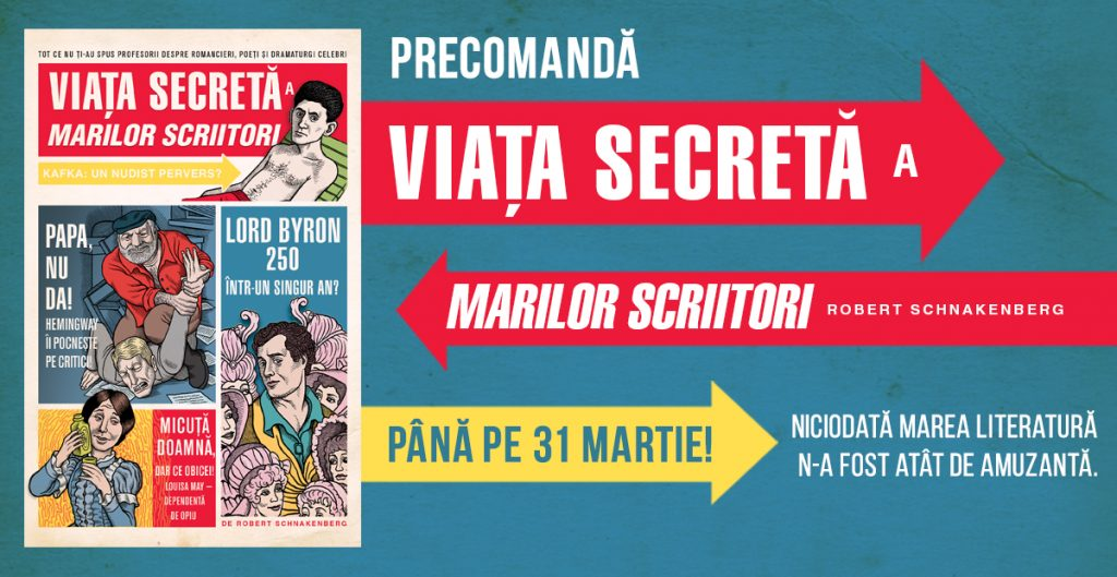 viata-secreta-a-marilor-scriitori-cover-editura-art-robert-schnakenberg-precomanda