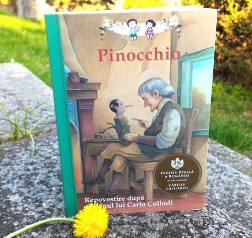 Pinocchio. Repovestire după romanul lui Carlo Collodi - Editura Curtea Veche ISBN: 978-606-588-718-3