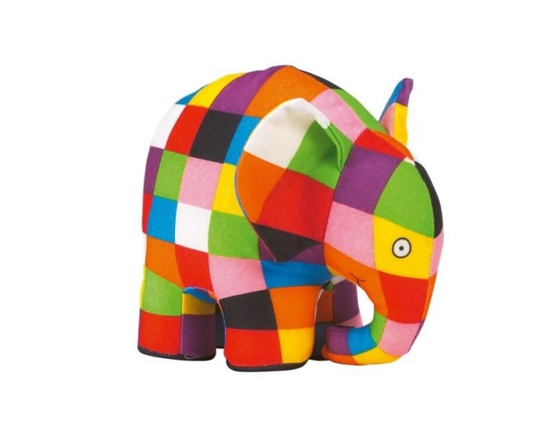 Jucarie plus multicolora, Elefantul Elmer