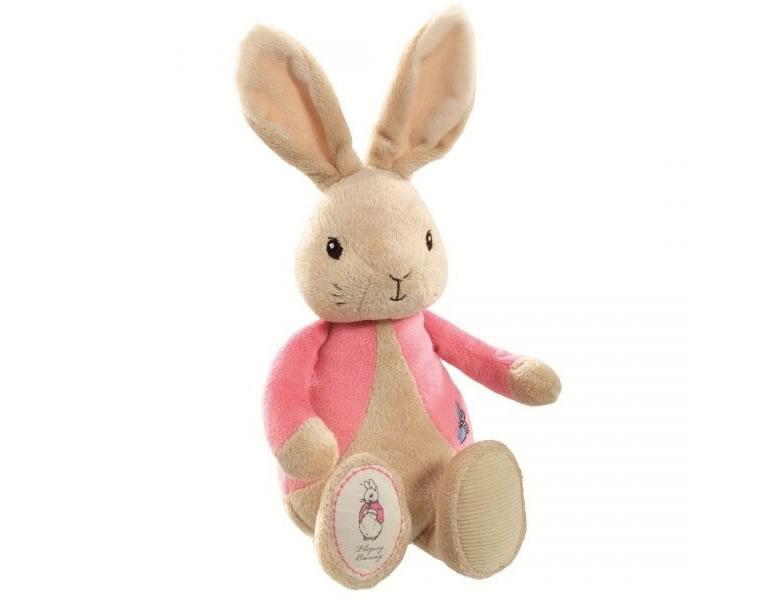 Jucarie plus pentru bebe Flopsy - Peter Rabbit, Elefant.ro