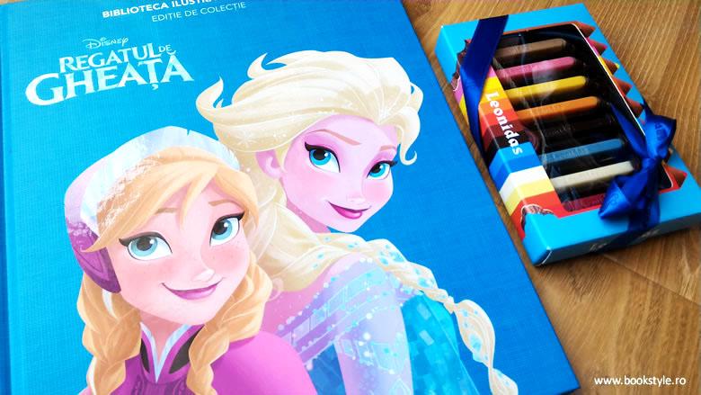 Regatul de gheata - Frozen - Disney - Editura Litera Biblioteca ilustrata
