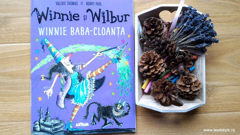 Winnie si Wilbur. Winnie Baba-Cloanța - Valerie Thomas și Korky Paul - Editura Arthur