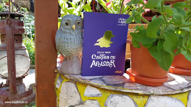Cartea cu Apolodor, Gellu Naum, Dan Ungureanu - Editura Arthur ISBN 978-606-788-124-0