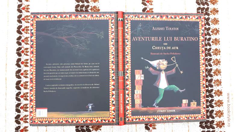 Aventurile lui Buratino sau Cheita de aur, de Aleksei Tolstoi, Sacha Poliakova, Editura Corint Junior
