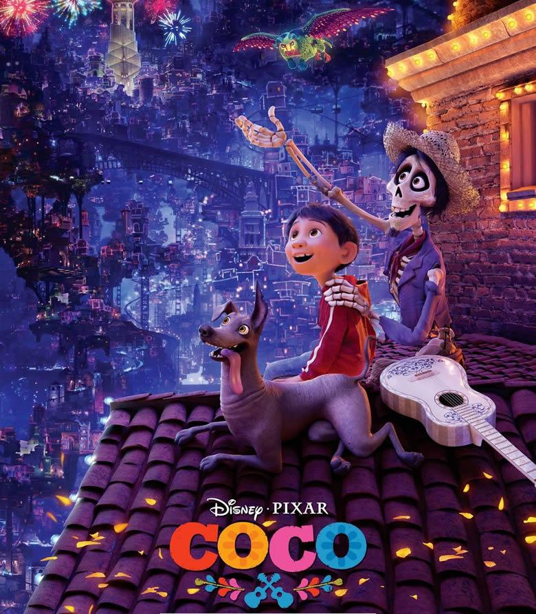 Coco, film animatie Disney Pixar
