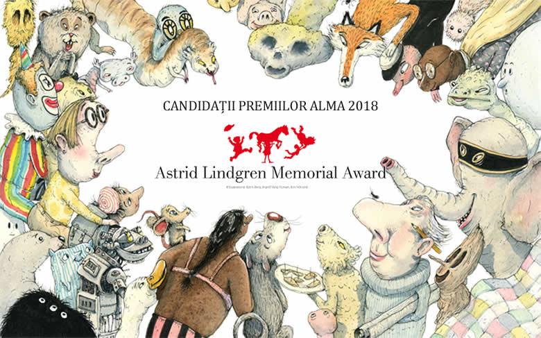 Candidați premiile ALMA 2018. Ilustratori români pe lista candidaților
