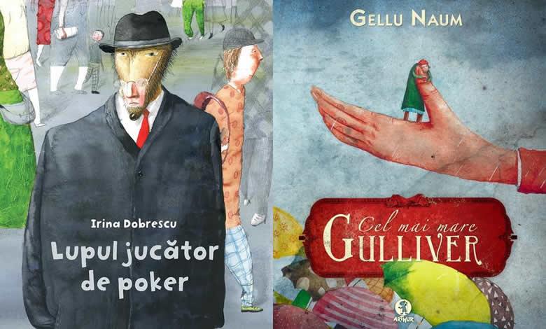 Irina Dobrescu, Ilustrator Lupul jucator de poker, Cel mai mare Gulliver