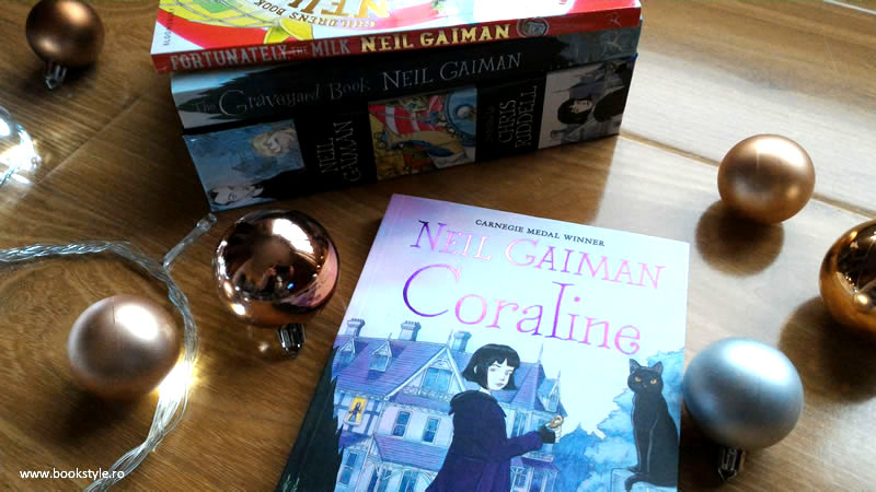 Fortunately the milk | The Graveyard Book | Coraline - Neil Gaiman - Children book boxset - Illustrated book by Chris Riddell