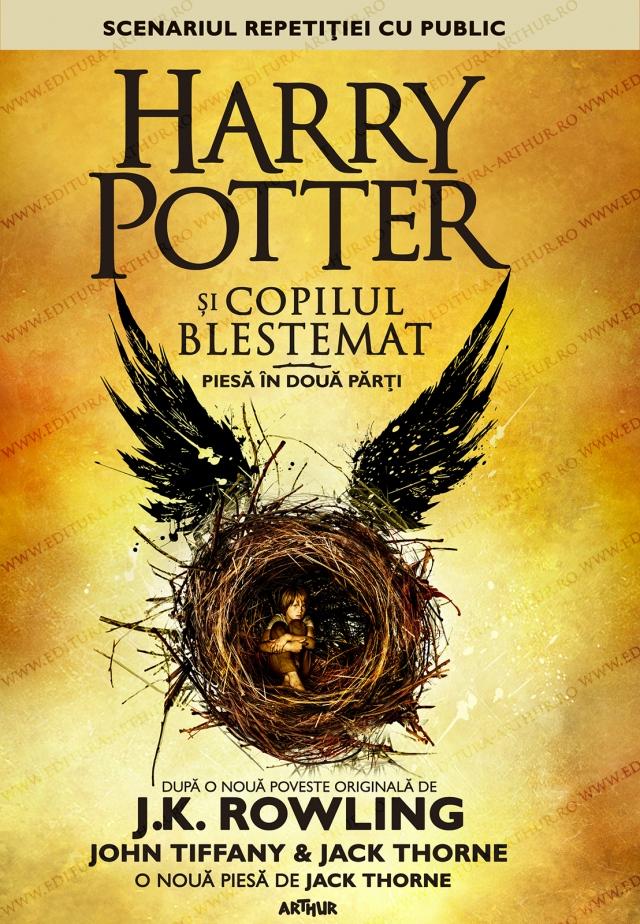 Harry Potter si copilul blestemat - Piesa teatru - Editura Arthur