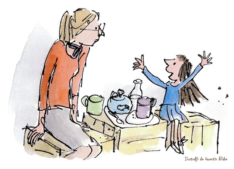 Matilda - Miss Honey - Roald Dahl - Quentin Blake