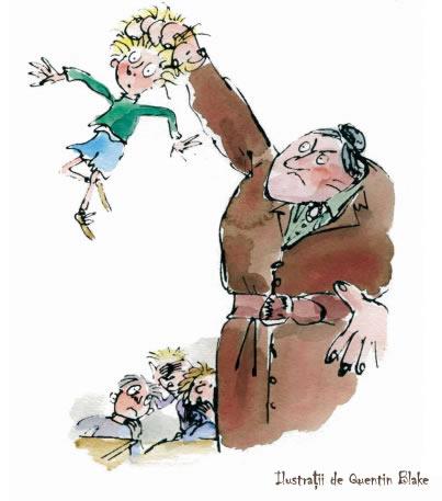 Matilda - Trunchbull - Roald Dahl - Quentin Blake