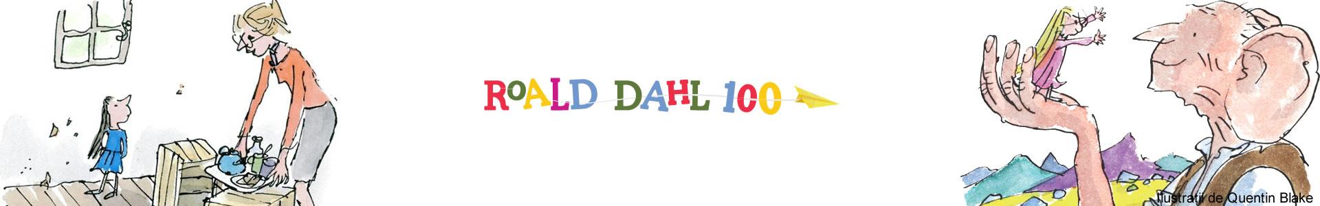 Aniversare Roald Dahl 100 de ani de la nastere