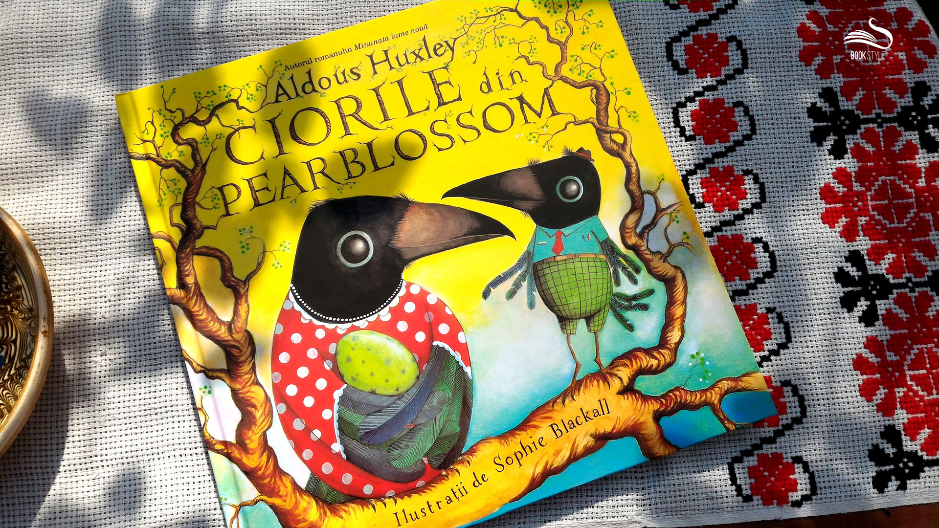 Ciorile din Pearblossom, singura carte de copii scrisă de Aldous Huxley, editura Arthur