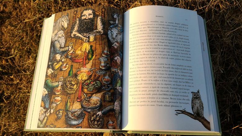 Recenzie carte: Hobbitul de JRR Tolkien - Editura RAO