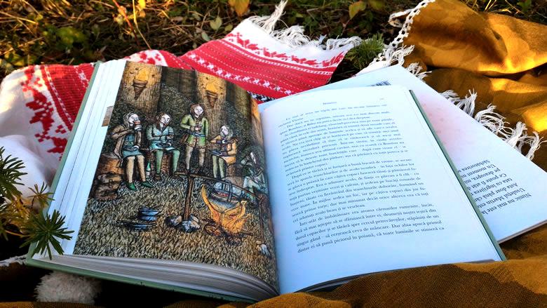 Hobbitul -Tolkien- Jemima Catlin - Carte ilustrată 978-606-609-584-6