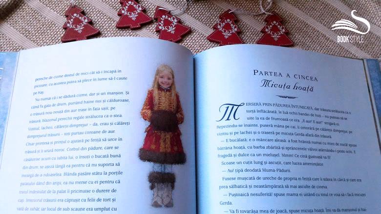 Crăiasa Zăpezii Hans Christian Andersen Naomi Lewis | Carte illustrată pentru copii la Editura Arthur ISBN 978-973-124-202-3