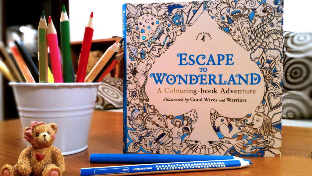 Escape to Wonderland - A Colouring-book Adventure - Good Wives and Warriors - Puffin - ISBN: 9780141366159