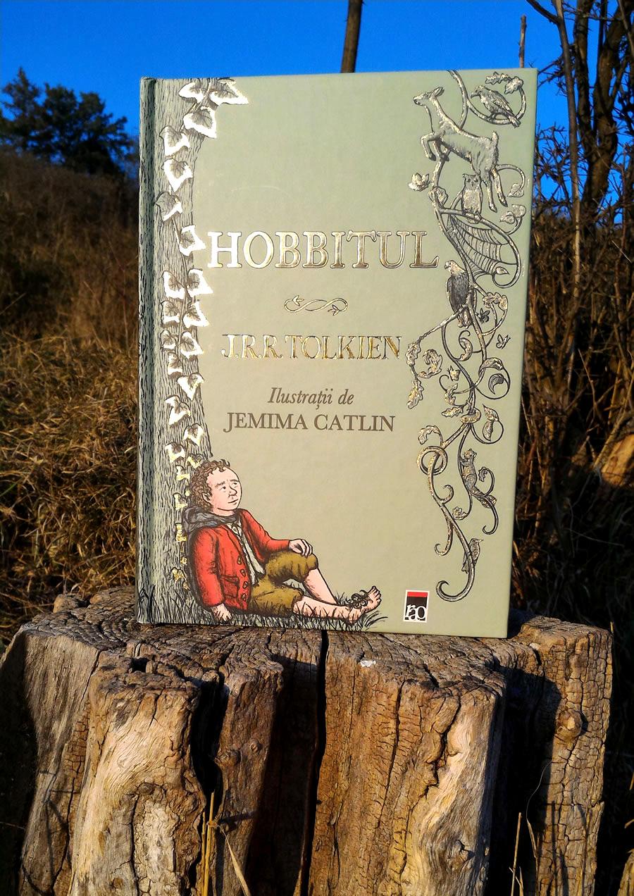Hobbitul - Carte ilustrată de Jemima Catlin Editura RAO ISBN 978-606-609-584-6