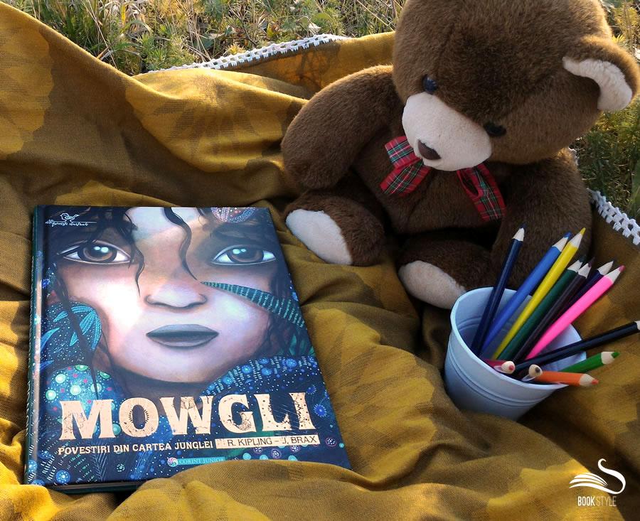 Mowgli - Povestiri din Cartea Junglei R. Kipling si J. Brax de la Editura Corint Junior ISBN: 9789731286921