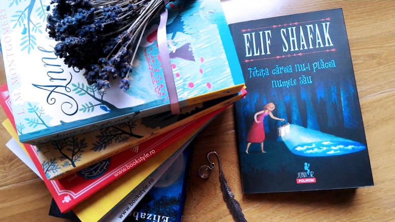 Fetița căreia nu-i plăcea numele său. Sakiz Sardunya, de Elif Shafak în colecția Polirom Junior ISBN: 978-973-46-6374-3