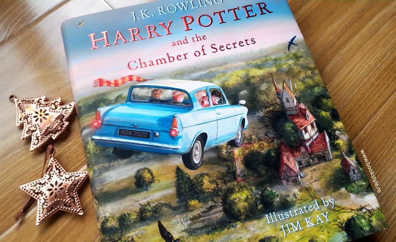 Harry Potter and the Chamber of Secrets - Illustrated Edition - Harry Potter si Camera Secretelor - Carte ilustrata - Bloomsbury ISBN 9781408845653 Jim Kay JK. Rowling