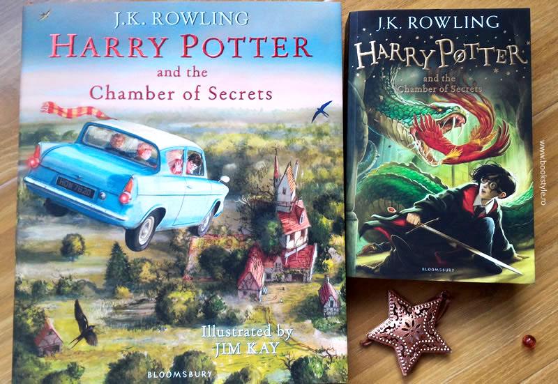 Harry Potter Illustrated Edition Volume 2 - Harry Potter Carte ilustrata volum 2 - Bloomsbury ISBN 9781408845653 Jim Kay JK. Rowling