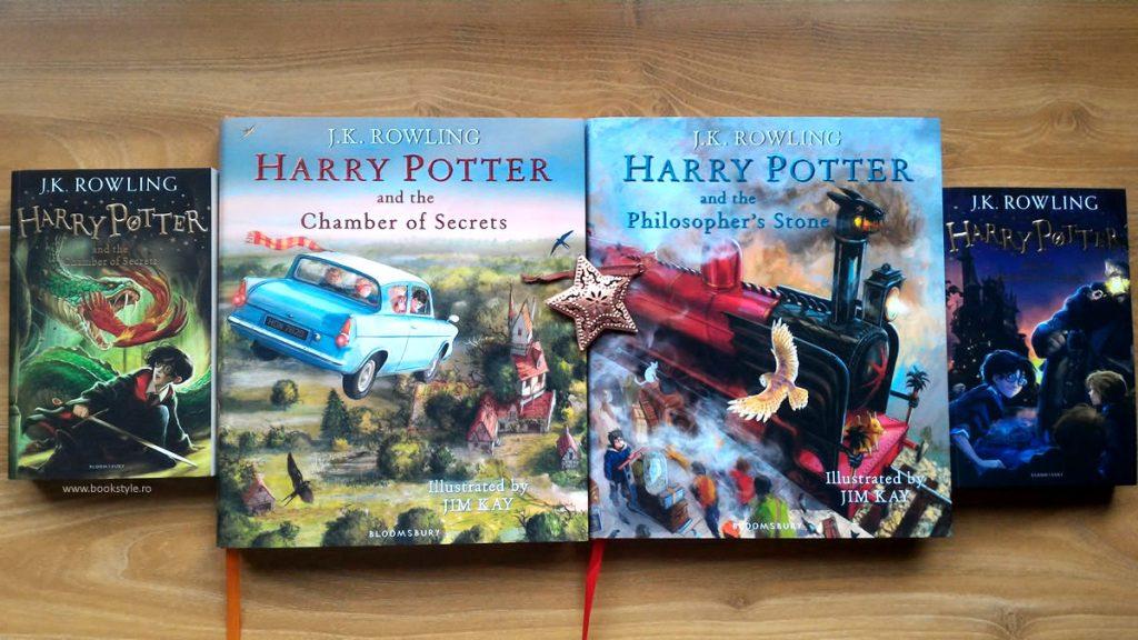 Harry Potter Illustrated Edition - Harry Potter Carte ilustrata - Bloomsbury ISBN 9781408845653 Jim Kay JK. Rowling
