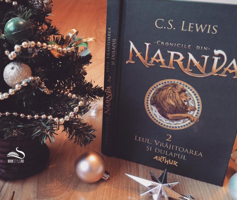 Narnia - Leul, vrajitoarea si dulapul - C.S.Lewis - Editura Arthur - Carte ilustrata