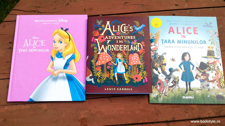 Alice in tara minunilor, Editura Nemi, Litera Junior Disney, Puffin Classics