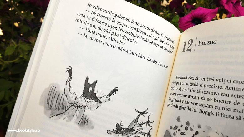 Rezumat Domnul Fox, vulpoi fantastic, Roald Dahl