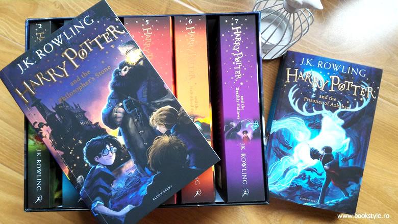 Harry Potter Seria completa in limba engleza de J.K. Rowling, Editura Bloomsbury