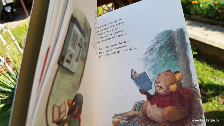 Cartea cu Apolodor, Gellu Naum, Dan Ungureanu - Editura Arthur ISBN 978-606-788-124-0 Carte ilustrată