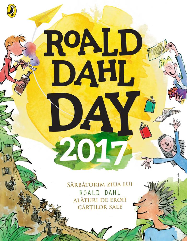 Ziua lui Roald Dahl 2017, Roald Dahl Day Penguin Poster