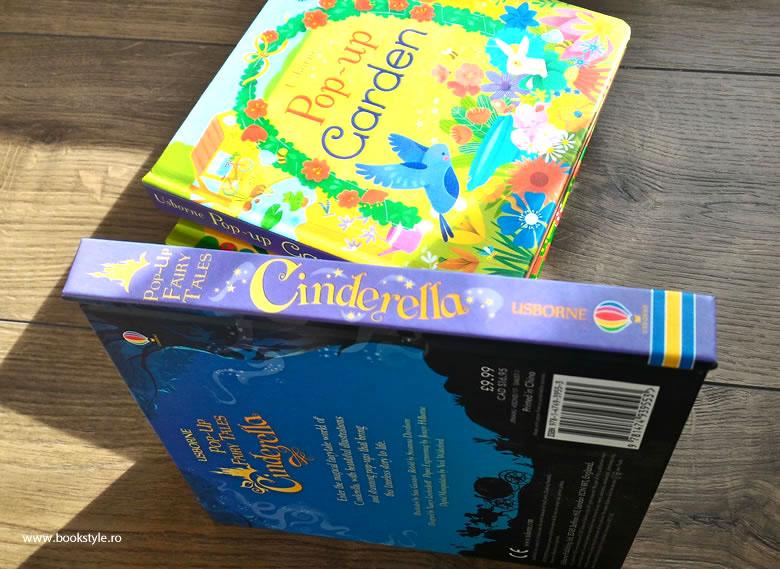 Cinderella Pop-Up Fairy Tale   Usborne ISBN: 9781474939553 Board Book