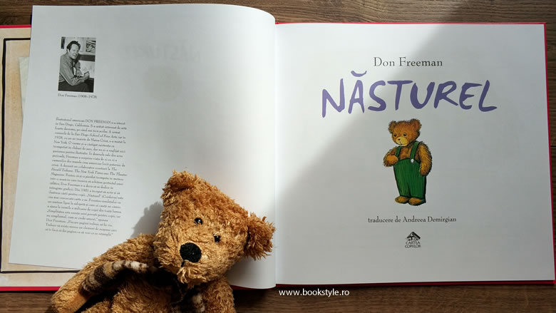 Nasturel, de Don Freeman - Editura Cartea Copiilor ISBN: 978-606-85440-2-1