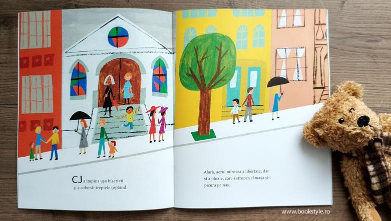 Ultima stație de pe Strada Pieței, Matt de la Peña, Christian Robinson, Editura PandoraM ISBN: 978-606-978-013-8