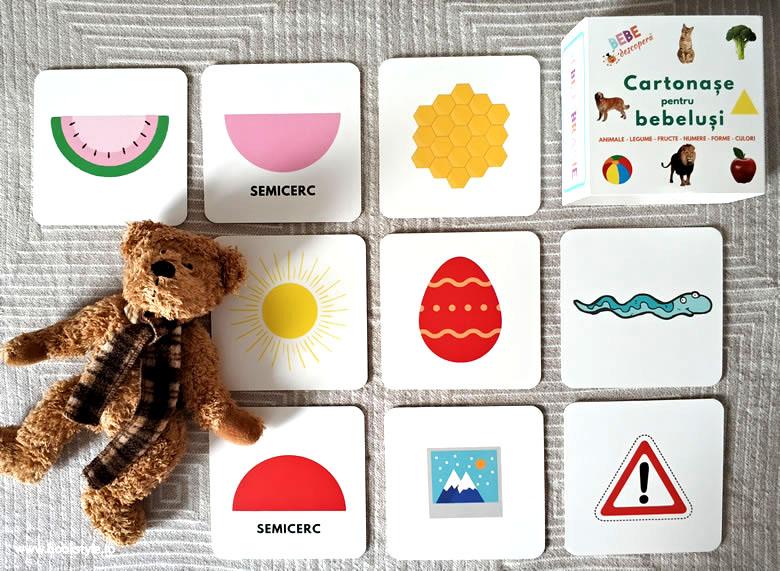 Cartonase pentru bebelusi, BebeLibrarie
