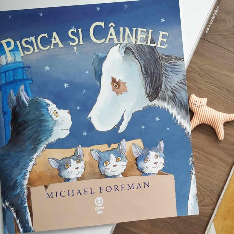 Pisica și Câinele, de Michael Foreman - Editura Pandora M ISBN: 978-606-978-088-6